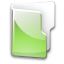 Filesystem folder green icon