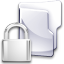 Filesystem folder locked icon