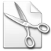 Action-cut icon