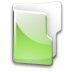 Filesystem-folder-green icon