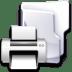 Filesystem-folder-print icon
