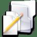 Filesystem-folder-txt icon