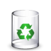 Filesystem-trash-empty icon