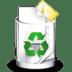 Filesystem-trash-full icon