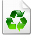 Mimetype-recycled icon