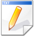 Mimetype-text-2 icon