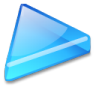 Action-arrow-blue-right icon