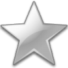 Action-bookmark-silver icon