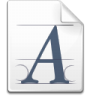 Action-fonts icon