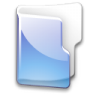 Filesystem-folder-blue icon