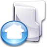 Filesystem-folder-home-3 icon