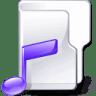 Filesystem-folder-music icon