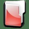 Filesystem-folder-red icon