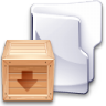 Filesystem-folder-tar icon
