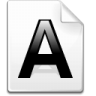 Mimetype-applix icon