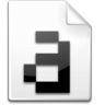 Mimetype-font-bitmap icon
