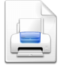 Mimetype-mime-postscript icon