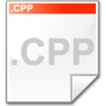Mimetype-source-cpp icon