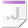 Mimetype-source-j icon