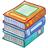 http://icons.iconarchive.com/icons/everaldo/desktoon/48/library-icon.png