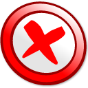 Button cancel icon