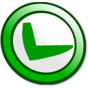 Button-ok icon