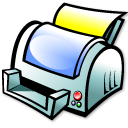 File print icon