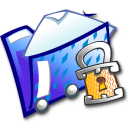 folder locked icon