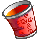 Trashcan empty icon