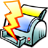 file quick print icon