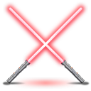 Darth Mauls light sabers icon