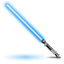 Youtube Channel Obi-Wans-light-saber-icon