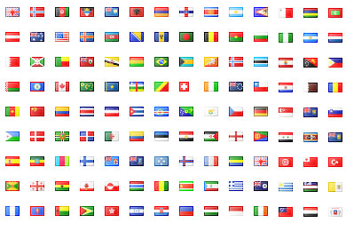 Flag Iconset 239 icons FamFamFam