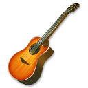 fire guitar icon