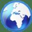 Circle web icon