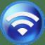 Circle-wifi icon