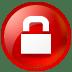 Circle lock icon