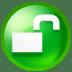 Circle unlick icon