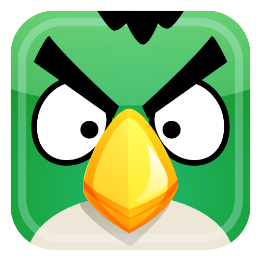 green bird icon
