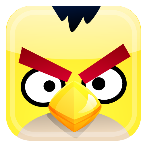 yellow bird icon