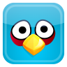 Blue-bird icon