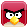 Red-bird icon