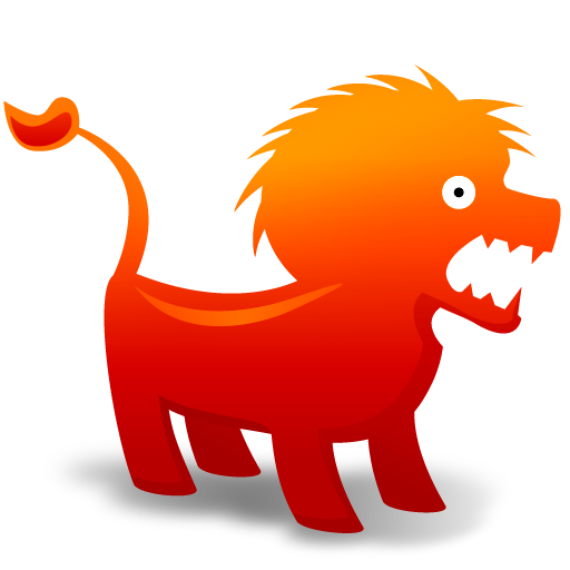 Lion Icon | Animal Toys Iconset | Fast Icon Design: www.iconarchive.com/show/animal-toys-icons-by-fasticon/Lion-icon.html