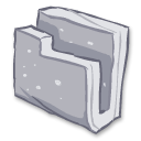 folder gray icon