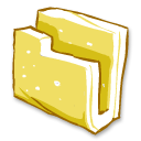 Folder-yellow icon