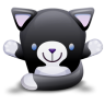 Cat-Black-White icon
