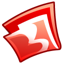 folder red icon