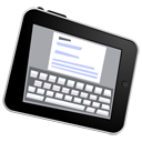 iPad write icon