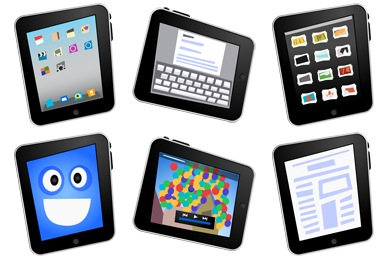 Comic iPad Icons