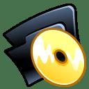 Folder cd icon